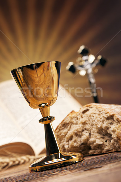Heilig objecten bijbel brood wijn studio for Bruno heilig