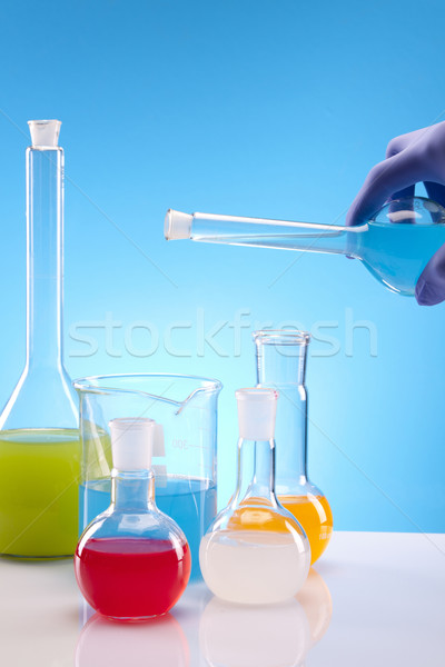 Colorful experiments Stock photo © BrunoWeltmann