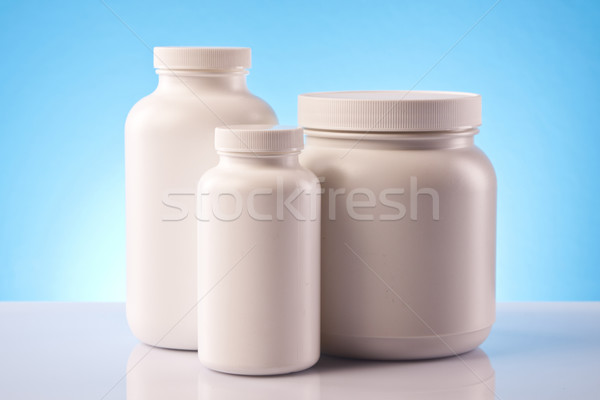 Stock fotó: étel · kiegészítők · táplálkozás · sport · fitnessz · egészség