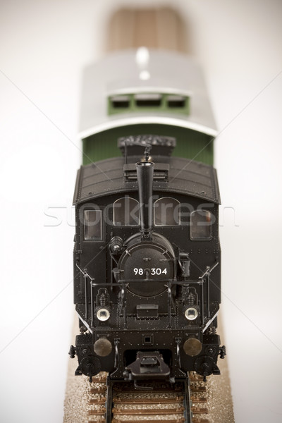 Train models, transport concept Stock photo © BrunoWeltmann
