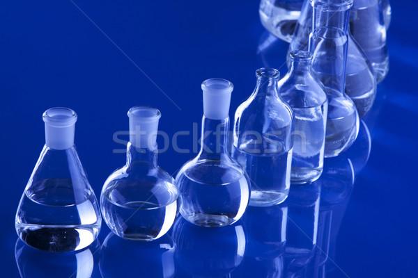 室 ガラス製品 医療 ラボ 化学 液体 ストックフォト © BrunoWeltmann