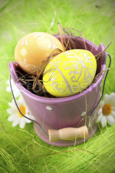 Stock photo: Easter Animals, holiday concept