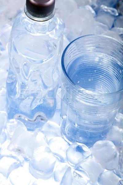 Laboratórium üvegáru teszt csövek jég gyógyszer Stock fotó © BrunoWeltmann