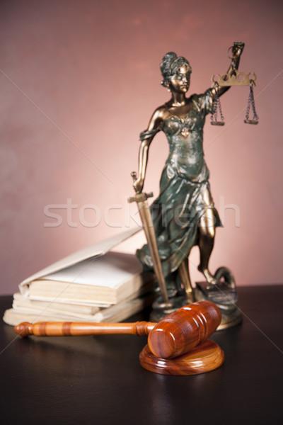 Temida, law justice Stock photo © BrunoWeltmann