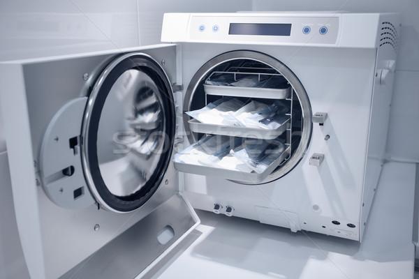 machine for sterilizing medical equipment Stock photo © BrunoWeltmann