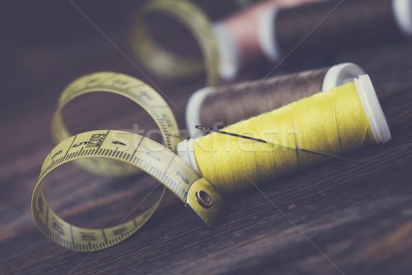 ミシン 針 スタジオ 写真 作業 ストックフォト © BrunoWeltmann