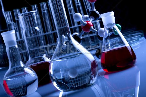 室 ガラス製品 テスト 薬 ラボ ストックフォト © BrunoWeltmann