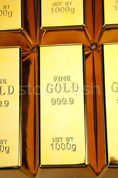 золото баров фото бизнеса Сток-фото © BrunoWeltmann