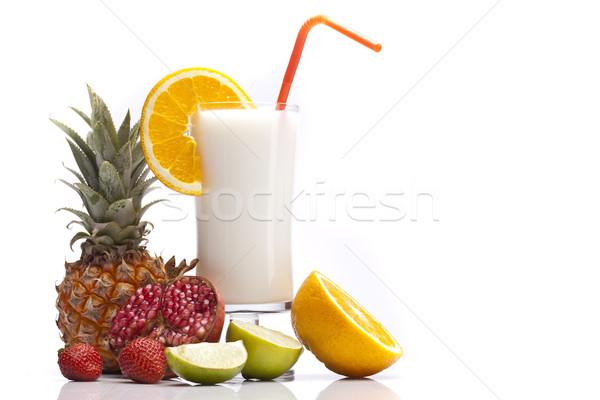 Exotic Pina Colada Drink Stock photo © BrunoWeltmann