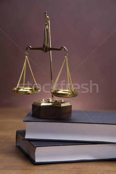 Törvény mérleg igazság ház otthon háttér Stock fotó © BrunoWeltmann