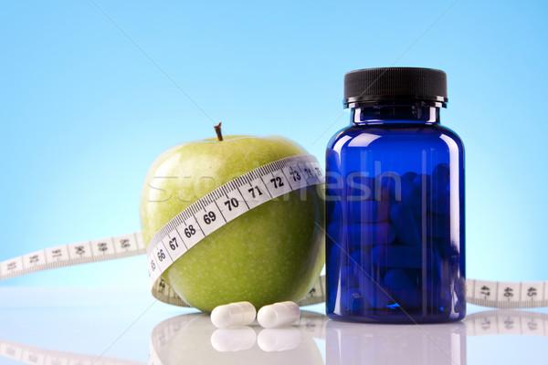 Food Supplements, nutrition concept Stock photo © BrunoWeltmann