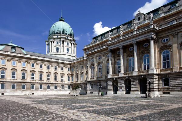 венгерский Будапешт Венгрия замок архитектура отпуск Сток-фото © BrunoWeltmann