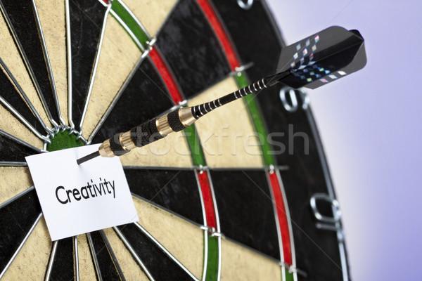 Dart gry pracy pracy arrow Zdjęcia stock © BrunoWeltmann