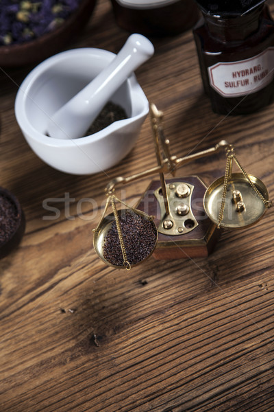 The ancient natural medicine Stock photo © BrunoWeltmann