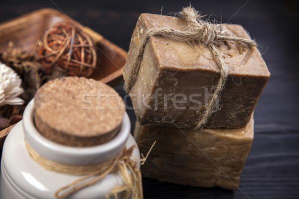 スパ 美 療法 スタジオ 木材 ストックフォト © BrunoWeltmann
