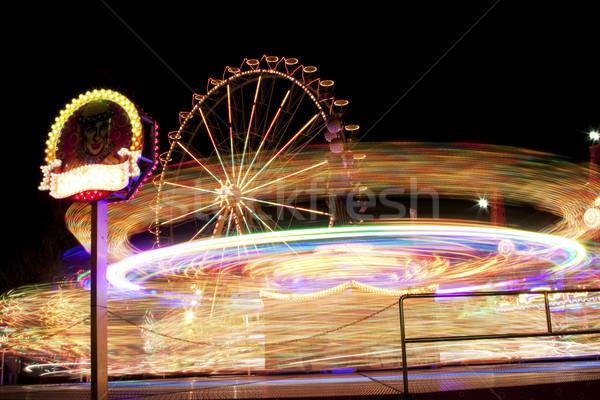Roller Coster Stock photo © BrunoWeltmann