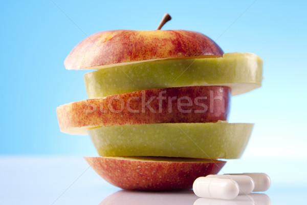 Voedsel wetenschap medische lichaam fitness gezondheid Stockfoto © BrunoWeltmann