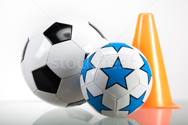 Sports accessories. paddles, sticks, balls and more Stock photo © BrunoWeltmann