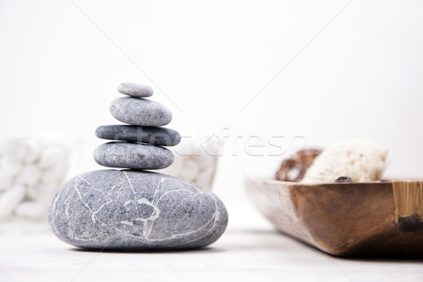 Spa and beauty. Aroma therapy Stock photo © BrunoWeltmann