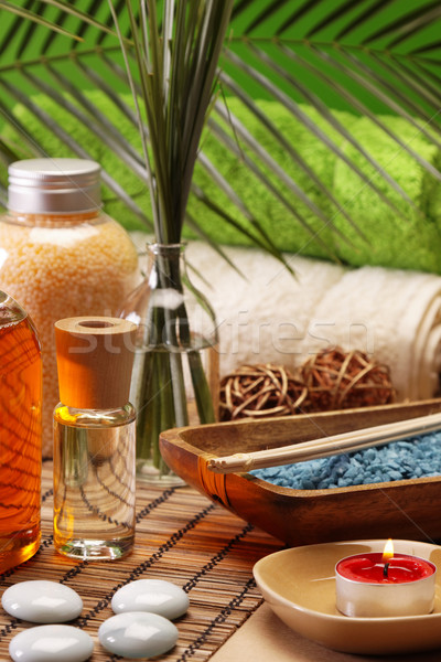 Spa and beauty, aroma and oils Stock photo © BrunoWeltmann