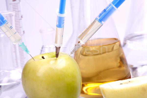 генетический исследований плодов природы фрукты медицина Сток-фото © BrunoWeltmann