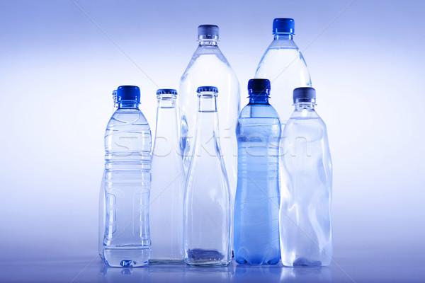 ストックフォト: 水 · ボトル · スポーツ · 自然 · ガラス · ドリンク