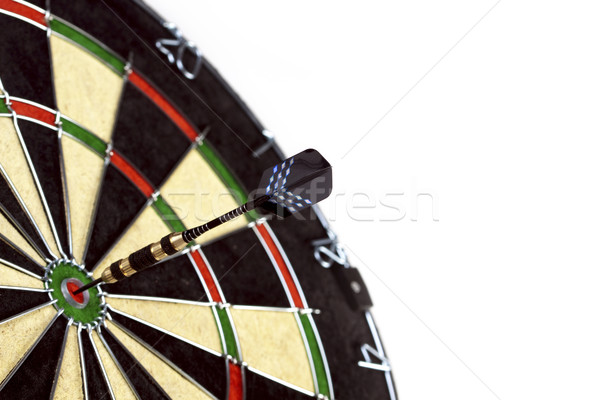 Bulls-eye game Stock photo © BrunoWeltmann