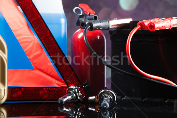 Stock photo: Essential elements in any car