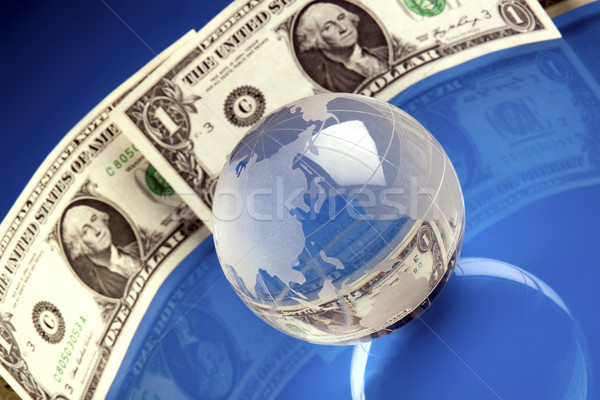 Business and money concept Stock photo © BrunoWeltmann