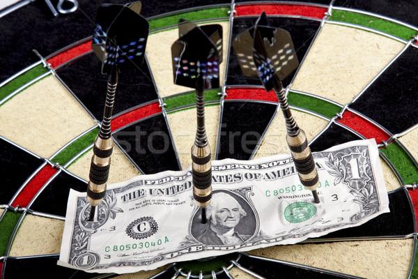 Darts játék telitalálat munka játék állás Stock fotó © BrunoWeltmann