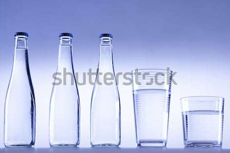 Pur eau douce tasse sport nature verre Photo stock © BrunoWeltmann
