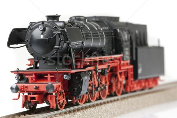 Vonat modellek szállítás világ űr csoport Stock fotó © BrunoWeltmann