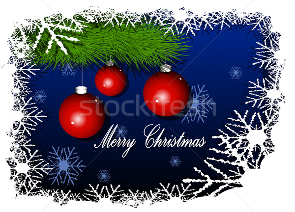 Merry Cristmas background Stock photo © brux