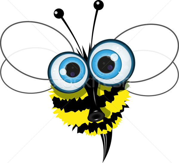 angry bee Stock photo © brux