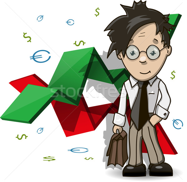 financial Analyst Stock photo © brux