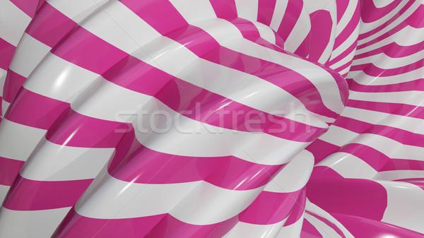 3d ilustracji streszczenie karmel różowy tekstury technologii Zdjęcia stock © brux