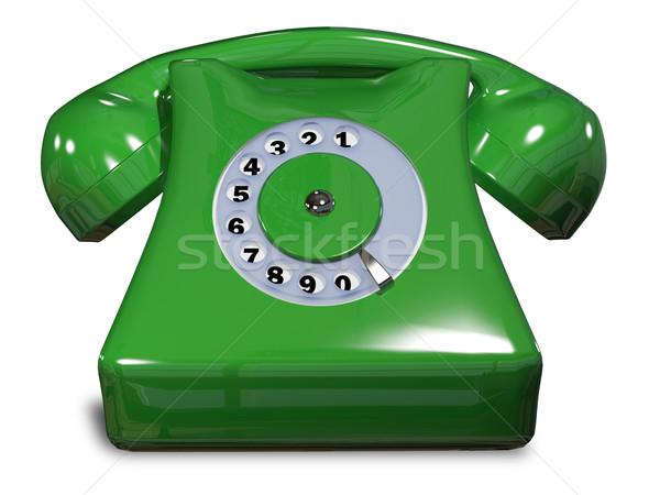 green phone   Stock photo © brux
