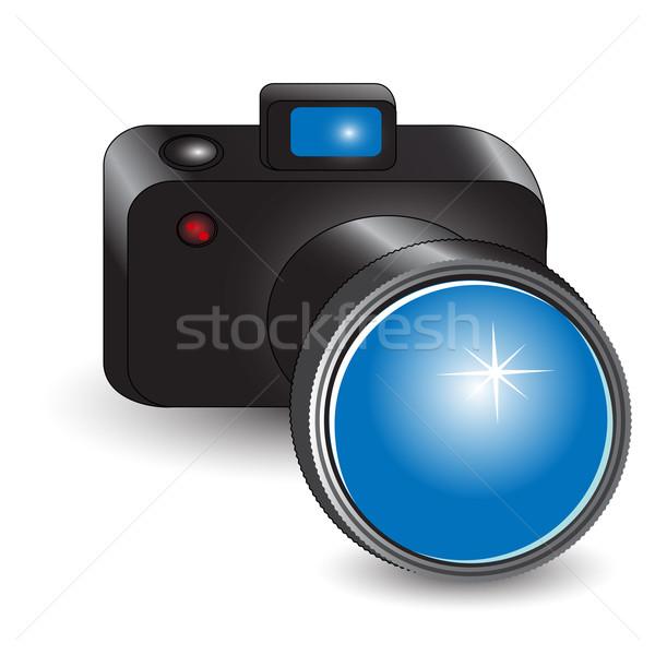 камеры иллюстрация цифровой фото белый свет Сток-фото © brux