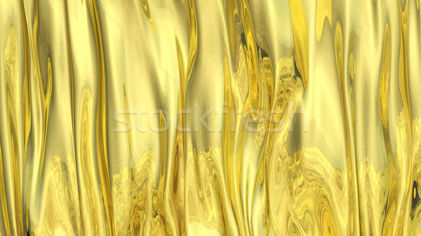 3D Illustration Abstract Gold Background Stock photo © brux
