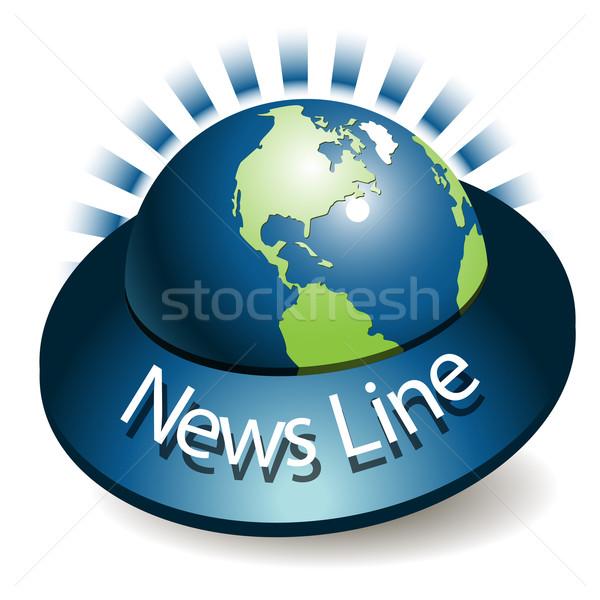 News Line Stock photo © brux
