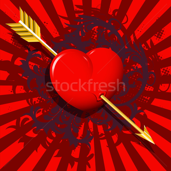 the heart of the boom Stock photo © brux