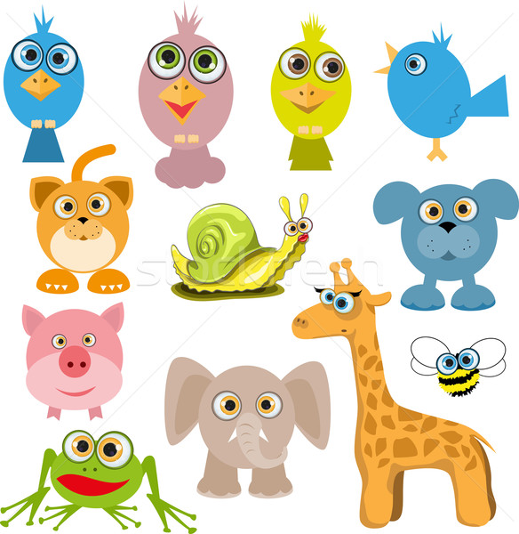cartoon animals Stock photo © brux