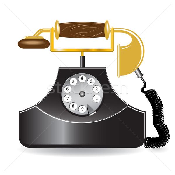 old telephone Stock photo © brux