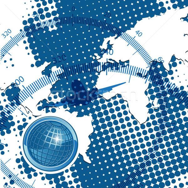 świecie ilustracja streszczenie tekstury arrow Internetu Zdjęcia stock © brux