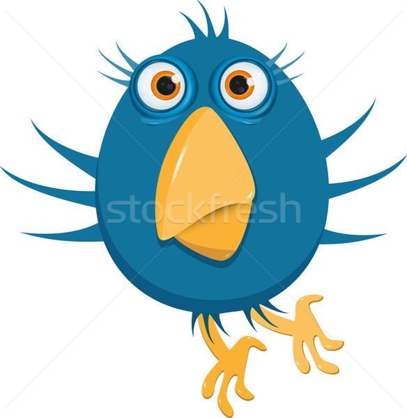 blue bird Stock photo © brux
