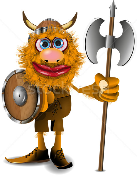 good viking Stock photo © brux