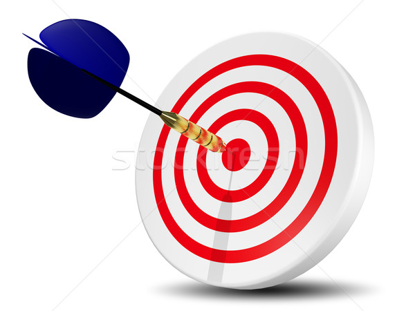 target with dart Stock photo © brux