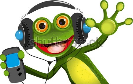 frog criminal Stock photo © brux