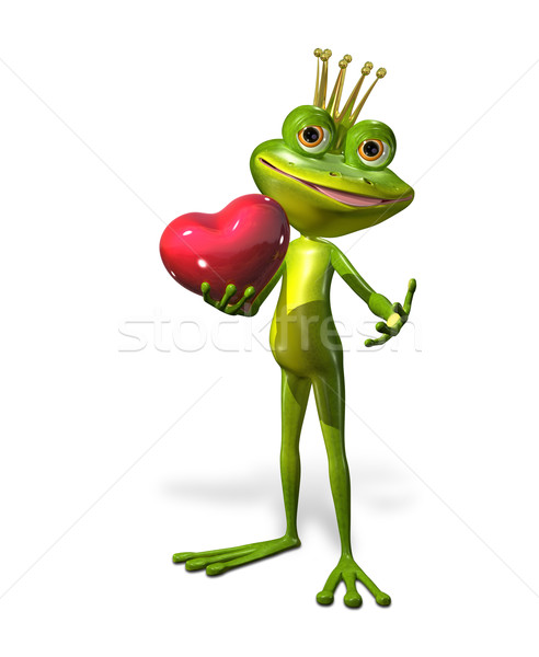 princess frog Stock photo © brux