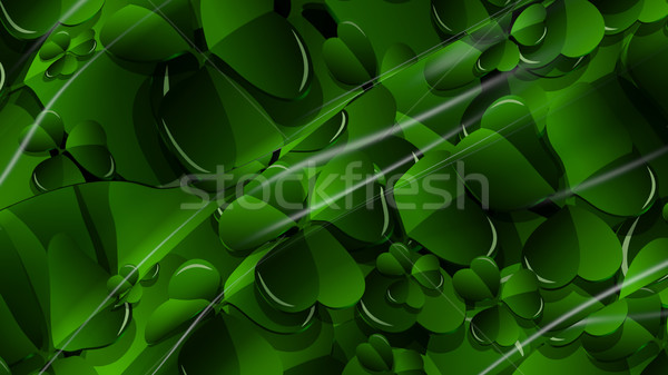 3D Illustration Abstract St. Patrick's Day Background  Stock photo © brux